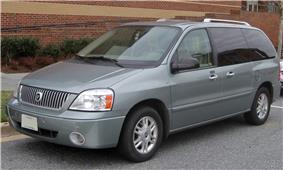 Mercury Monterey minivan