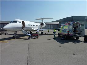 Unloading Patient in Zurich
