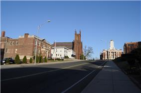 Colony Street-West Main Street Historic District