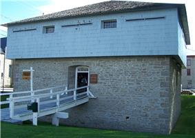 Exterior view of the Merrickville Blockhouse