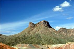 Teapot mesa, above Ray mine