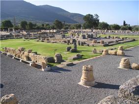 View of the ancient Asclepeion.