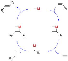 Olefin metathesis mechanism