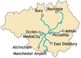 Metrolink network diagram