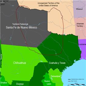 An Osage The boundaries of Comancheria -- the Comanche homeland.