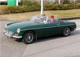 1966MGB at a Classics Rally in Bristol, England.