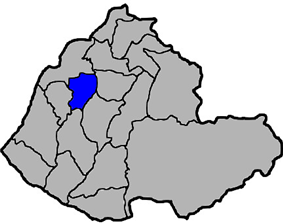 Location of Miaoli