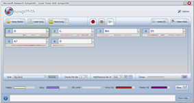 Songsmith Screenshot
