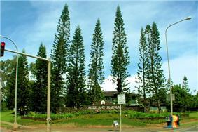 Mililani Mauka, the newer area of Mililani located on the mountain, or mauka, side of the H-2 freeway