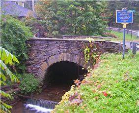 Mill Street Stone Arch Bridge
