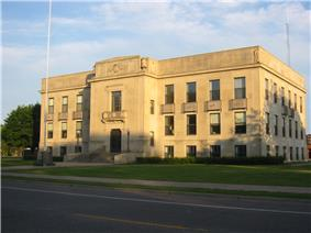Mille Lacs Courthouse in Milaca