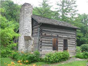 Miller-Leuser Log House