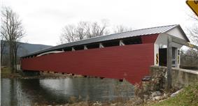 Millmont Red Bridge