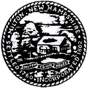 Official seal of Milton, New Hampshire