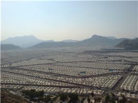 Tents at Mina