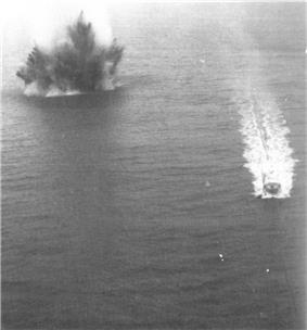 Mine explosion Haiphong Harbor 1973