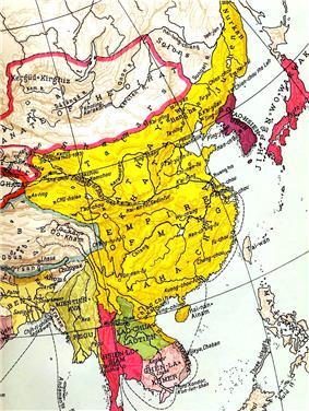 Map of Ming China