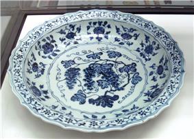 Ming plate 15th century Jingdezhen kilns Jiangxi