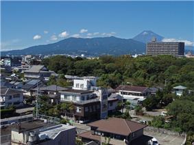 downtown Mishima