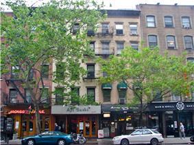 Sidewalk Clock at 519 3rd Avenue, Manhattan