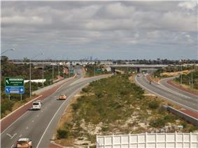 Photograph of freeway