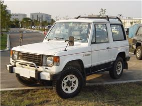 Mk.I Mitsubishi Pajero.