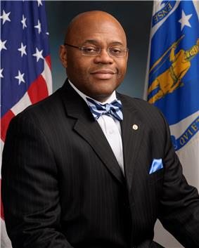 Mo Cowan, official portrait, 113th Congress.jpg
