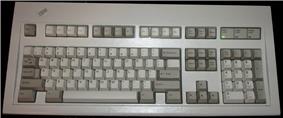 101-key Enhanced keyboard