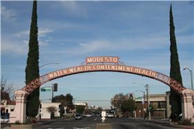 The Modesto Arch