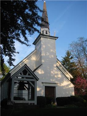 Exterior view of the Mohawk Chapel