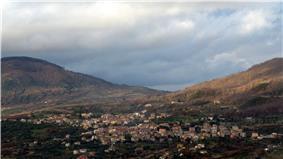 The town of Moio della Civitella with is frazione Pellare