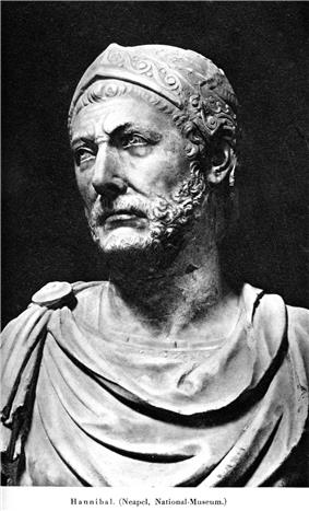 Bust, said to be of Hannibal.