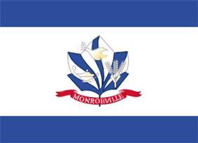 Flag of Monroeville, Pennsylvania