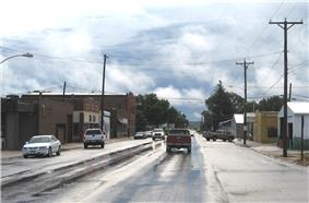 Downtown Mondamin, Iowa