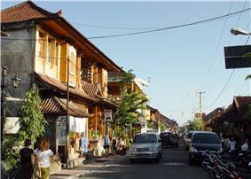 Monkey Street in Ubud