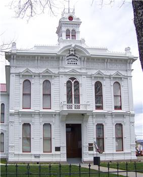 The Mono County Court House in Bridgeport