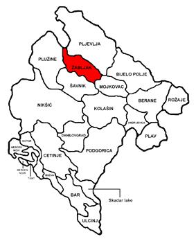 Žabljak Municipality in Montenegro