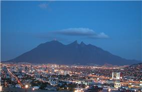 View of Monterrey.