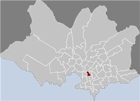 Location of La Figurita in Montevideo