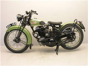 Montgomery De Luxe 350cc 1934