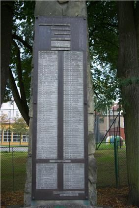 Monument WOP officers 1945-1947 in Sanok names of victims.jpg