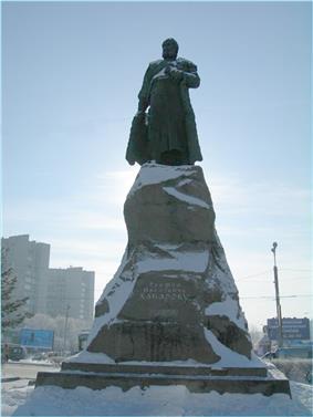 Khabarov monument
