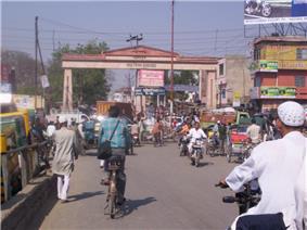 Jigar Moradabadi Gate in Moradabad