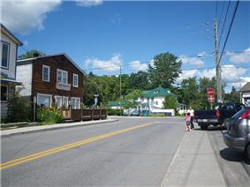 Downtown Morin Heights