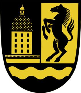 Coat of arms of Moritzburg, Saxony