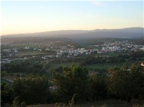 View of Mortágua valley