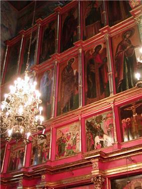 Moscow Archangel Michael Cathedral interior.jpg