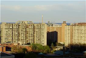 Skyline of Moss Park
