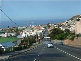 Mossel Bay, Downtown