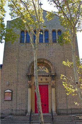Most Precious Blood Roman Catholic Church, Rectory and Parochial School